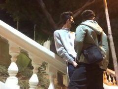 Flagra de sexo gau com jovens em publico